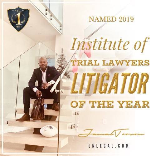 "Attorney Jamal Tooson Named 2019's ""Litigator of the Year"" by AIOTL"